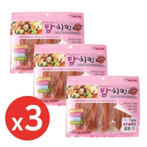 맘쿡(300g) 습식슬라이스 x3개 강아지간식