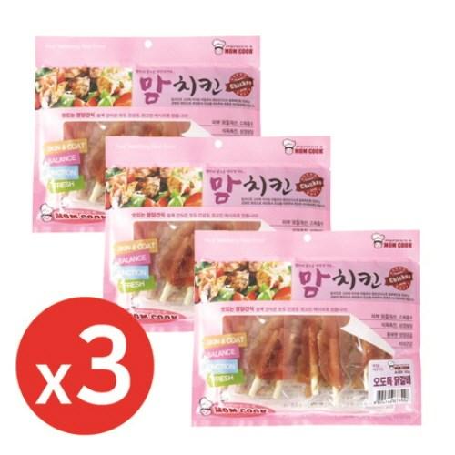 맘쿡(300g) 오도독닭갈비 x3개 강아지간식