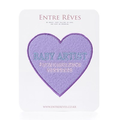 LOVE BABY ARTIST PATCH