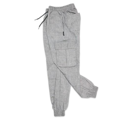 (UNISEX)M Cool Royal Cargo-Jogger Pants(COOL BLACK)