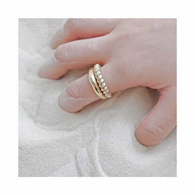 [925silver 반지] 볼드링 2type