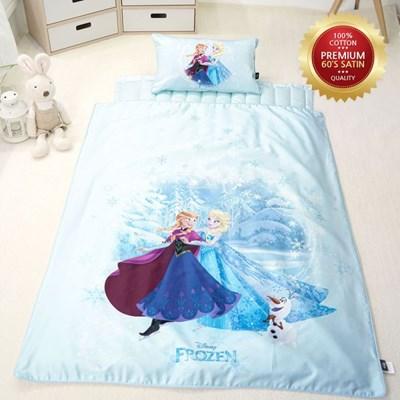 [단품-이불] 디즈니 겨울왕국 여름 낮잠이불 - 엘사와 안나의 모험