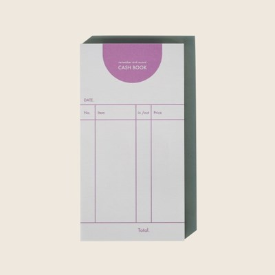 cash book / purple