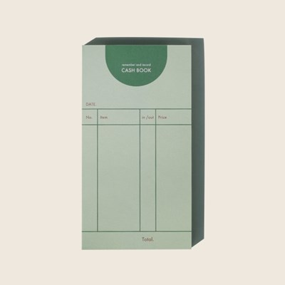 cash book / green