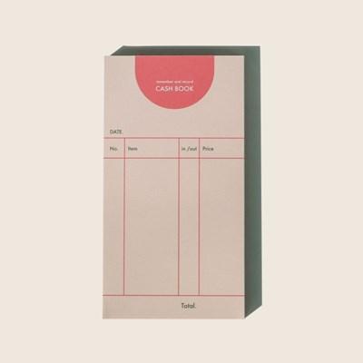 cash book / pink