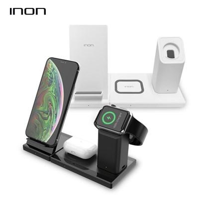 아이논 3in1 고속 무선충전기 애플아이워치 에어팟 갤럭시버즈
