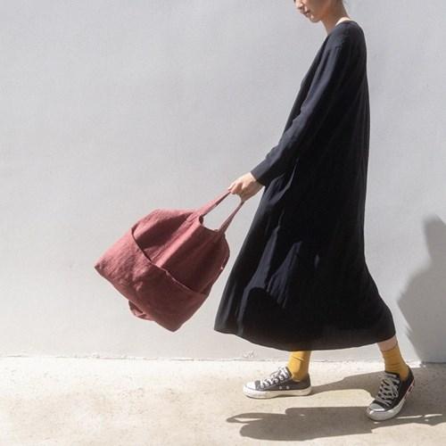 Natural 3-Way Bag (RED)