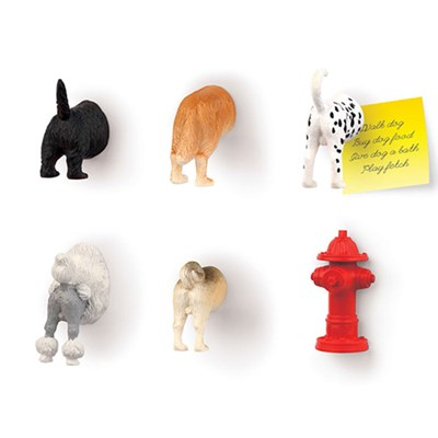 키커랜드 냉장고 자석 - 강아지 (6개입) (MG17)
