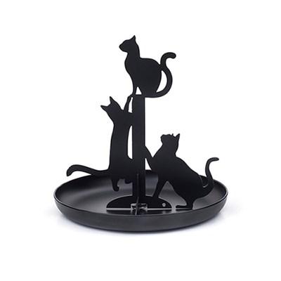 키커랜드 악세사리 진열대 - 고양이 블랙 (JK14)