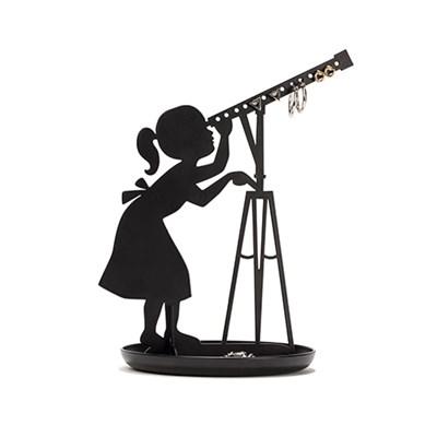 키커랜드 악세사리 진열대 - 천체관측 블랙 (JK19)