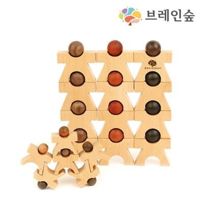 [브레인숲] 패밀리 도미노그램18