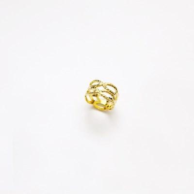 Fabric tissue Ring (Gold)