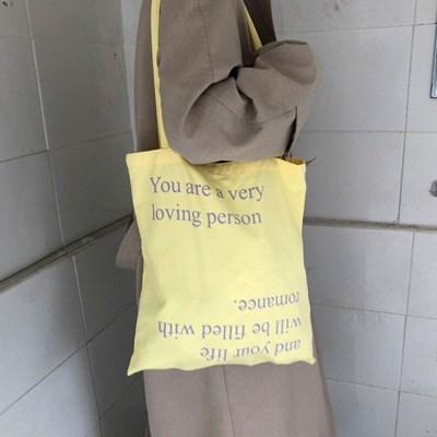 loving person bag