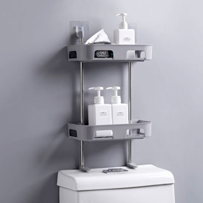 벽 부착형 욕실 선반/다용도 화장실 변기선반 수납정리_(1278638)