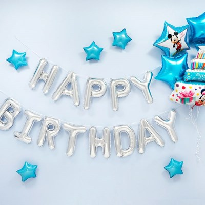 생일파티 장식세트 [미키마우스 케이크 해피벌스데이 실_(12008493)