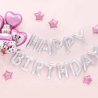 생일파티 장식세트 [미니마우스 케이크 해피벌스데이 실_(12008488)