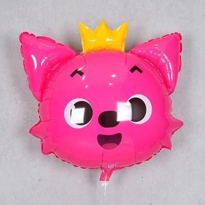 캐릭터 은박풍선 핑크퐁 여우