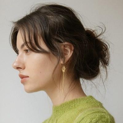 Vintage Pendant Drop Earring