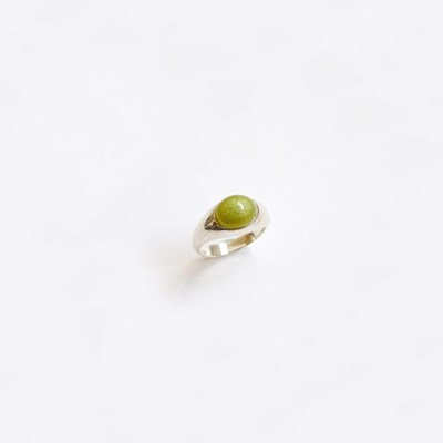 Small Bold Setting Ring (Silver)