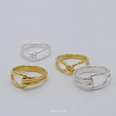 [925silver 반지] 네이그링1+1