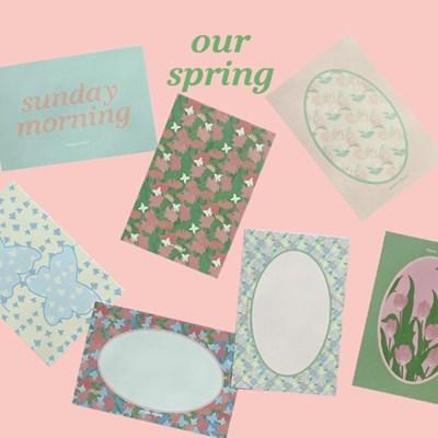 [뮤즈무드] postcard ver.16 our spring