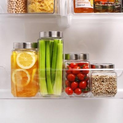 프리모 유리 냉장고 도어포켓 사각형 택1