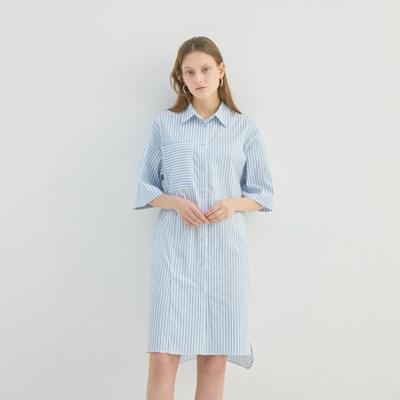 IRIS HALF SHIRT DRESS