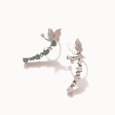 제이로렌 0M02957 자개 나비 날개형 이어커프_(1007889)