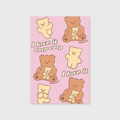 I love nini-pink(엽서)