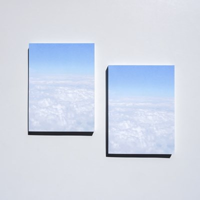 [메리필름] 솜사탕 구름 떡메모지