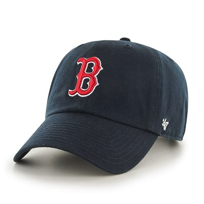 47브랜드  MLB모자 보스톤 레드삭스 네이비 레드빅로고