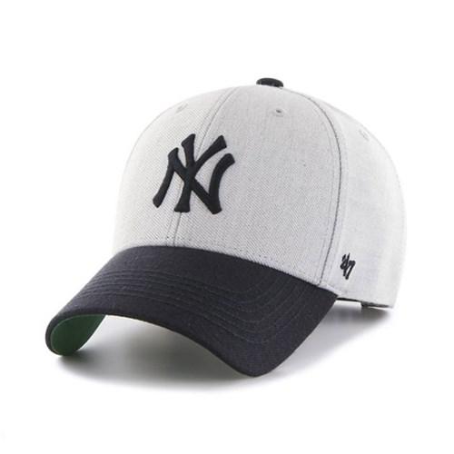 47브랜드 MLB모자 양키즈 울 그레이네이비 여성아동용