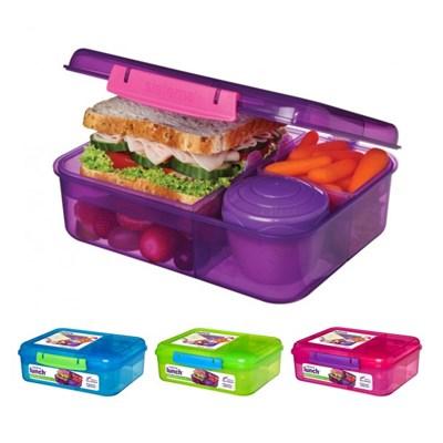 시스테마 BPA-free 벤토 런치 박스 도시락통 1.65L_(970903)