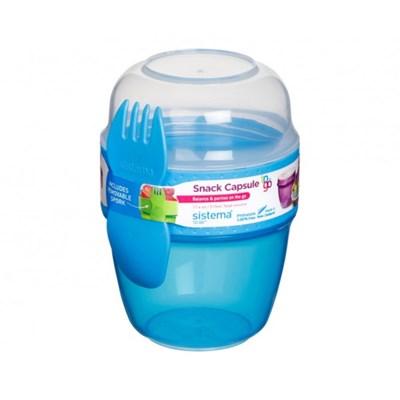 시스테마 BPA-free 캡슐형 미니 런치박스 2in 1 시리얼_(970900)