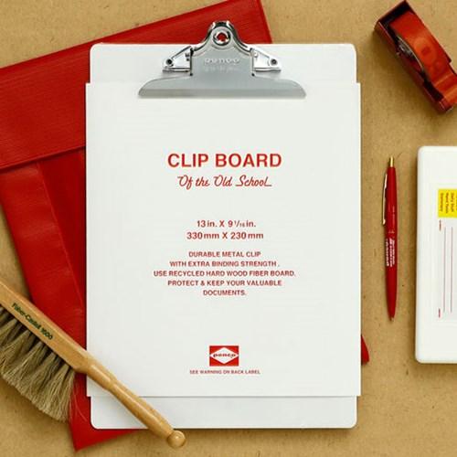 PENCO 25th Limited Clip Board White O/S A4