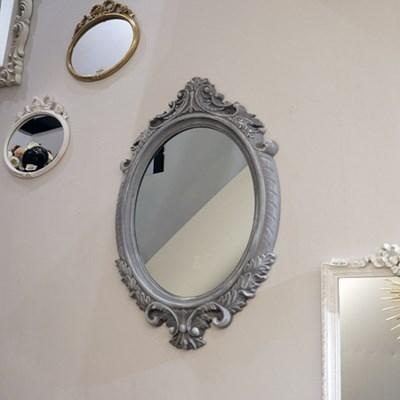 프렌치 쉐비 그레이 인테리어거울