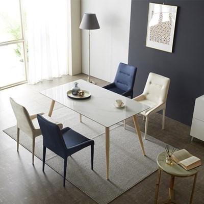 [야테카오리] 에센셜 세라믹식탁 4인용 (의자형) HC858
