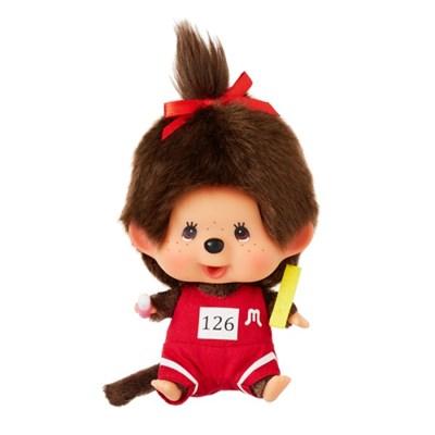 Let's Sports Monchhichi Field Athlete Girl Big Head S