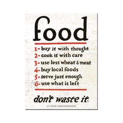 노스텔직아트[14353]Food Don't Waste It