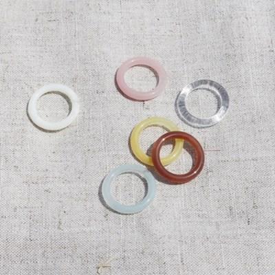 아크릴 컬러 기본링 세트 (2color)