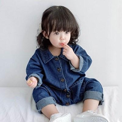 데님 올인원 유아 우주복(3-36개월) 204090_(902898123)