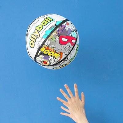 안전한 실내 공 놀이 올리볼 Ollyball_(773608)