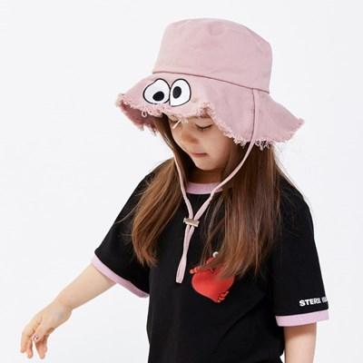 [SM20 SV X Sesame Street] Wide Floppy Hat for Kids(Pink)