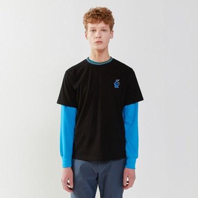 [SM20 SV X Sesame Street] Neck Point T-Shirts(Black)_(763710)