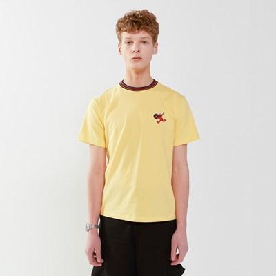 [SM20 SV X Sesame Street] Neck Point T-Shirts(Yellow)