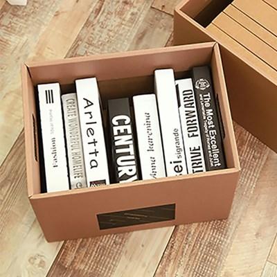 DIY 크라프트 종이박스(39x28cm)/ 서류보관 수납상자