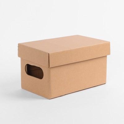 DIY 크라프트 종이박스(24x15cm)/ 종이정리함
