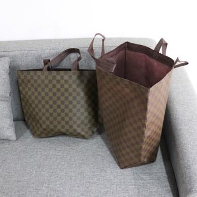 부직포쇼핑백 가방 휴대용 옷가게 선물포장 장바구니 10묶음
