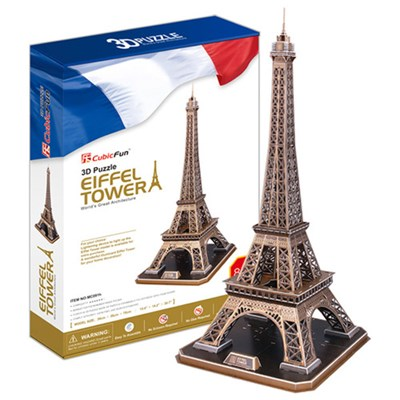큐빅펀 3d퍼즐 에펠탑(대)