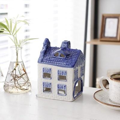 Delft Blue 하우스 캔들홀더